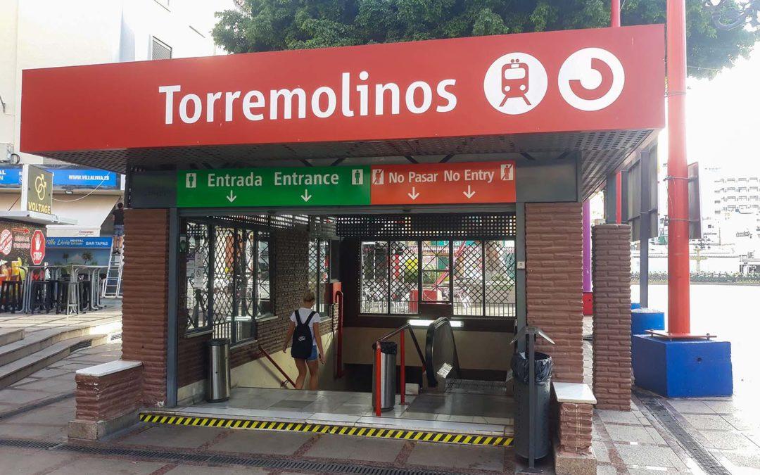 Reforma en estación de Tren de Torremolinos