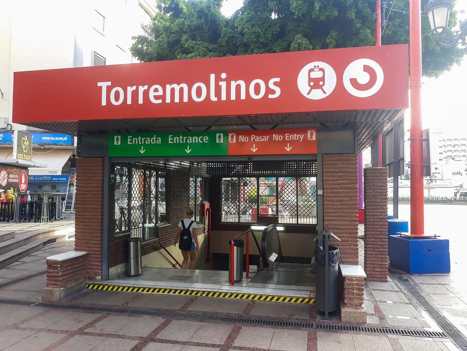 reformas en estación de tren de Torremolinos