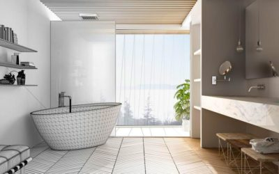 Cheap but stylish bathroom renovations