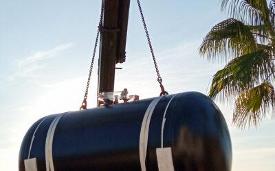 Instalación depósitos de gas Torremolinos