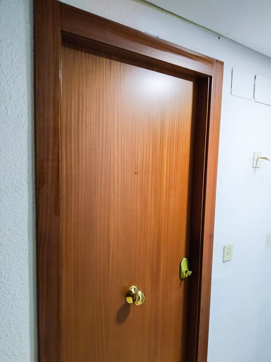 Reform of doors in Torremolinos